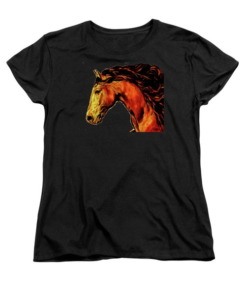 Trojan Women's T-Shirt (Standard Cut) by Rafael Salazar