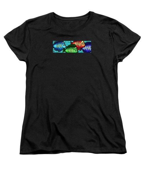 Tropic Swim Women's T-Shirt (Standard Cut) by Jim Harris
