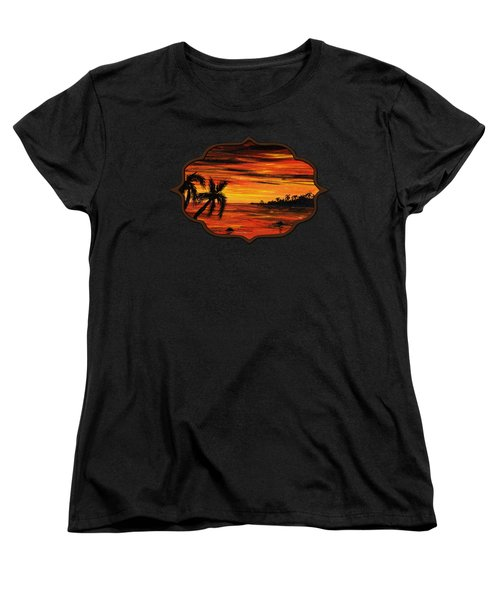 Tropical Night Women's T-Shirt (Standard Cut)
