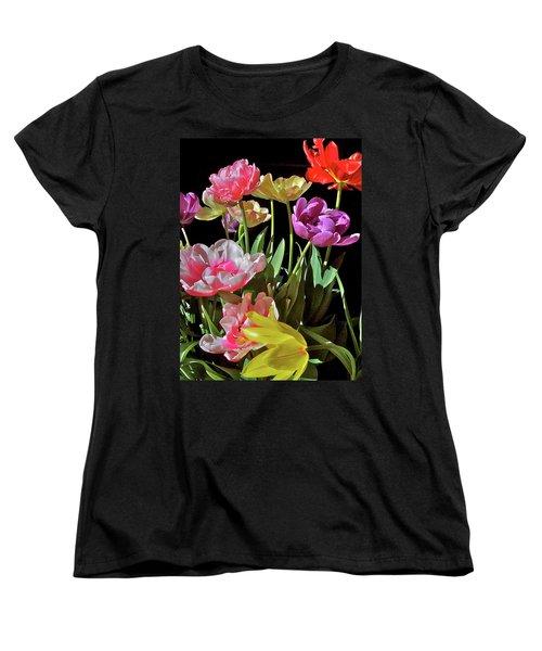 Tulip 8 Women's T-Shirt (Standard Cut) by Pamela Cooper
