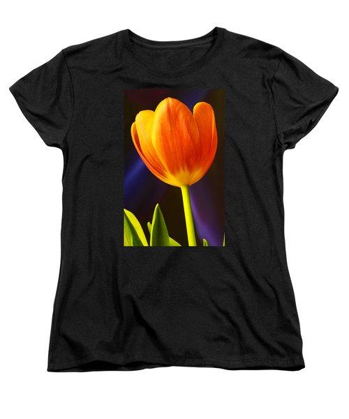 Tulip Women's T-Shirt (Standard Cut) by Marlo Horne