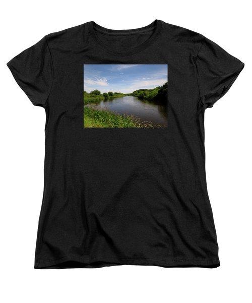 Women's T-Shirt (Standard Cut) featuring the photograph Turtle Creek by Kimberly Mackowski