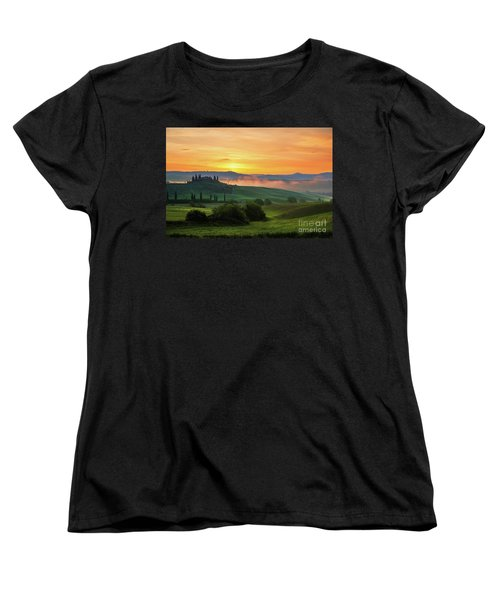 Tuscan Dream II Women's T-Shirt (Standard Cut) by Yuri Santin