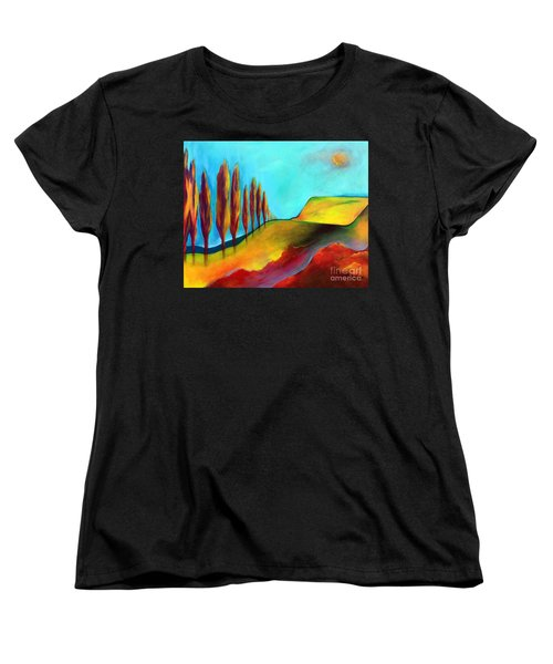 Tuscan Sentinels Women's T-Shirt (Standard Cut) by Elizabeth Fontaine-Barr