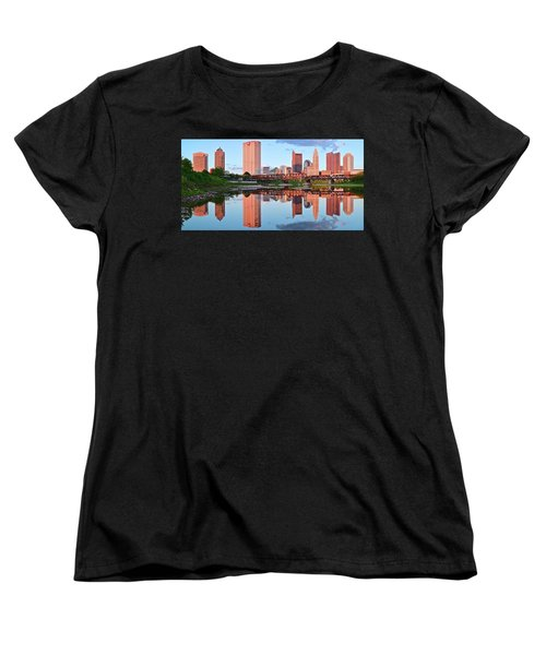 Women's T-Shirt (Standard Cut) featuring the photograph Two Of Everything by Frozen in Time Fine Art Photography