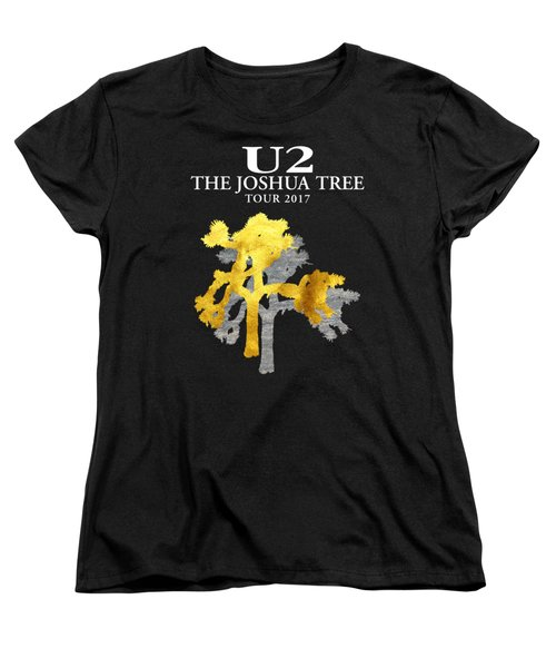 U2 Joshua Tree Women's T-Shirt (Standard Cut) by Raisya Irawan