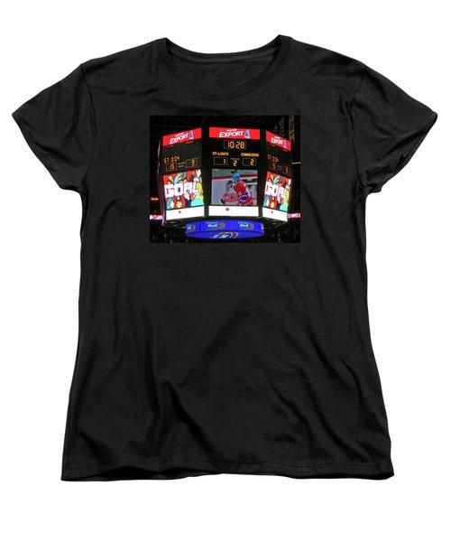 Un But De Saku Koivu ... Women's T-Shirt (Standard Cut) by Juergen Weiss