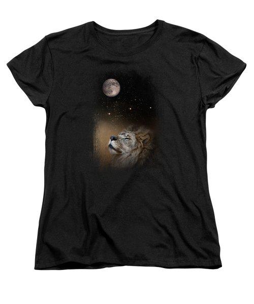 Under The Moon And Stars Women's T-Shirt (Standard Cut) by Jai Johnson