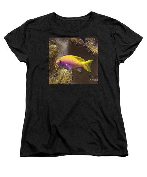 Women's T-Shirt (Standard Cut) featuring the photograph Underwater Dream by Xn Tyler
