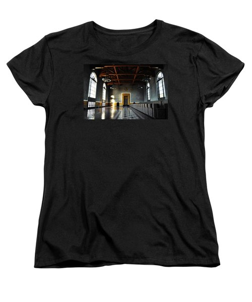 Women's T-Shirt (Standard Cut) featuring the photograph Union Station Los Angeles by Kyle Hanson
