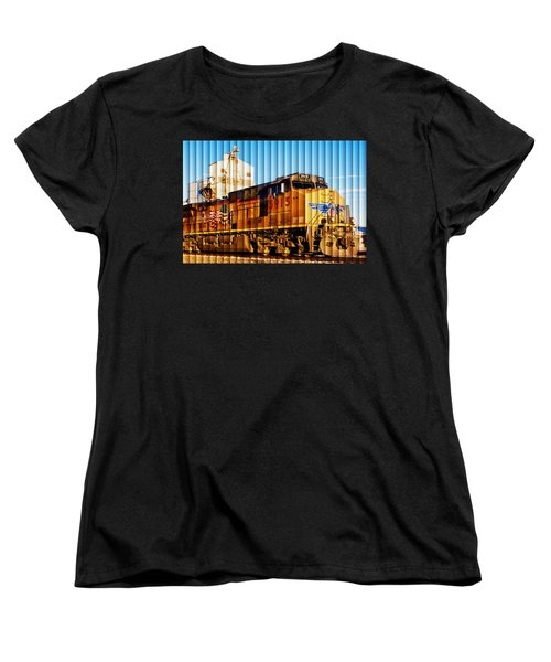 Up 5915 At Track Speed Women's T-Shirt (Standard Cut) by Bill Kesler