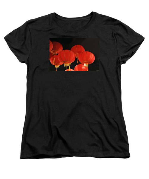 Women's T-Shirt (Standard Cut) featuring the photograph Up Up And Away by Jan Amiss Photography