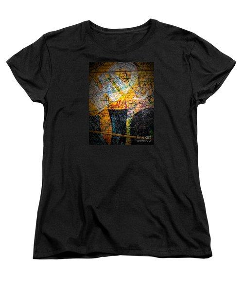 Women's T-Shirt (Standard Cut) featuring the photograph Urban Grunge Three by Ken Frischkorn