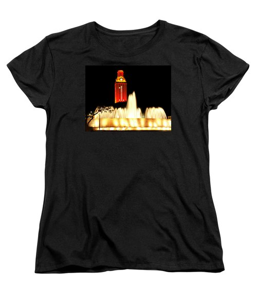 Ut Tower Championship Win Women's T-Shirt (Standard Cut) by Marilyn Hunt