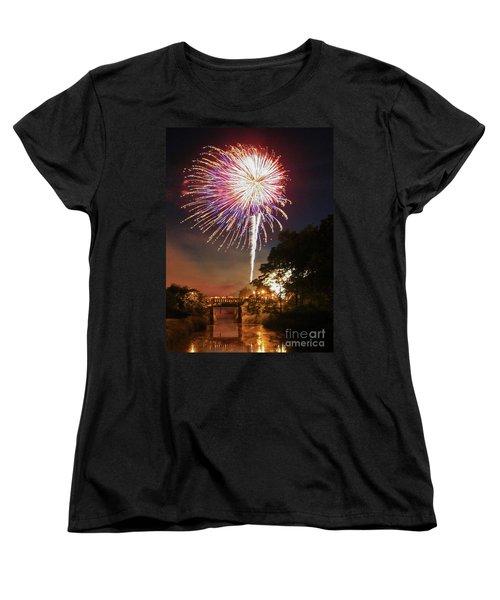 Utica Fireworks Women's T-Shirt (Standard Cut)