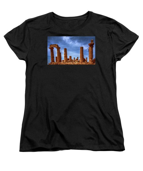 Valley Of The Temples IIi Women's T-Shirt (Standard Cut) by Patrick Boening