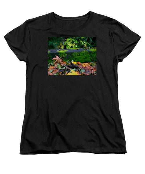 Varigated Fall Women's T-Shirt (Standard Cut) by Marie Neder