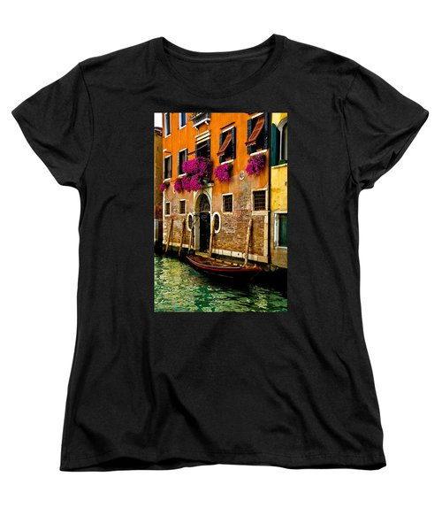 Venice Facade Women's T-Shirt (Standard Cut) by Harry Spitz