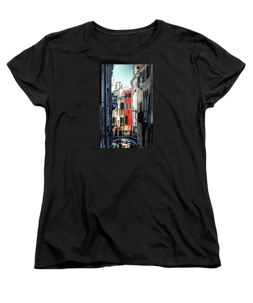 Women's T-Shirt (Standard Cut) featuring the photograph Venice Xx by Tom Prendergast