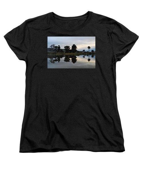 Women's T-Shirt (Standard Cut) featuring the photograph Ventura California Coast Estuary by Kyle Hanson