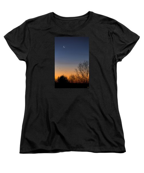 Venus, Mercury And The Moon Women's T-Shirt (Standard Cut)