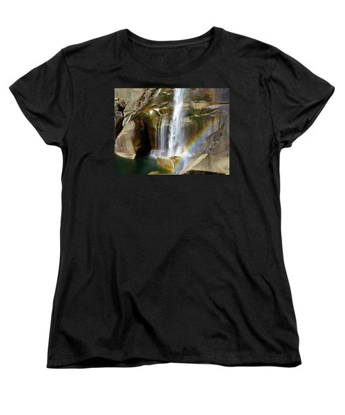 Vernal Falls Mist Trail Women's T-Shirt (Standard Cut) by Amelia Racca