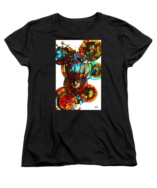 Vibrant Sphere Series 995.042312vsx2 Women's T-Shirt (Standard Cut) by Kris Haas
