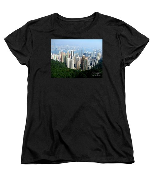 Women's T-Shirt (Standard Cut) featuring the photograph Victoria Peak 1 by Randall Weidner