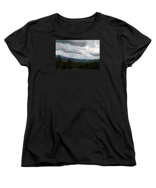 View From Mount Washington IIi Women's T-Shirt (Standard Cut) by Suzanne Gaff