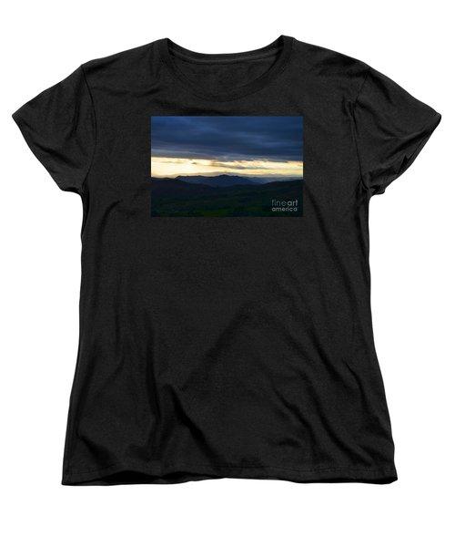 View From Palomar 9633 Women's T-Shirt (Standard Cut) by Sharon Soberon