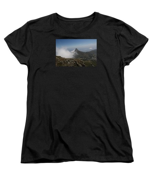 View From Table Mountain Women's T-Shirt (Standard Cut) by Bev Conover