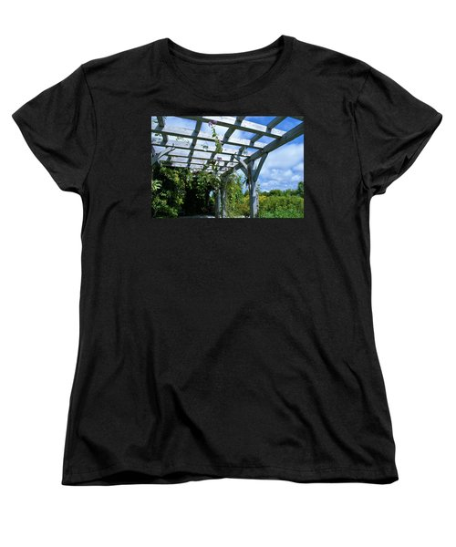Women's T-Shirt (Standard Cut) featuring the photograph View To The Sky by Lois Lepisto