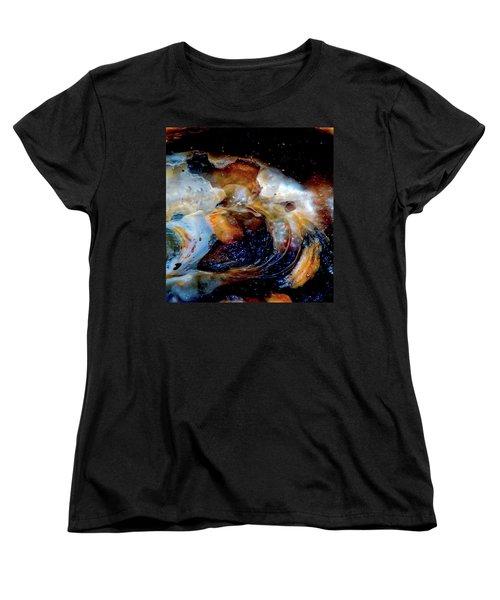 Vilano Sea Shell Constellation Women's T-Shirt (Standard Cut) by Gina O'Brien