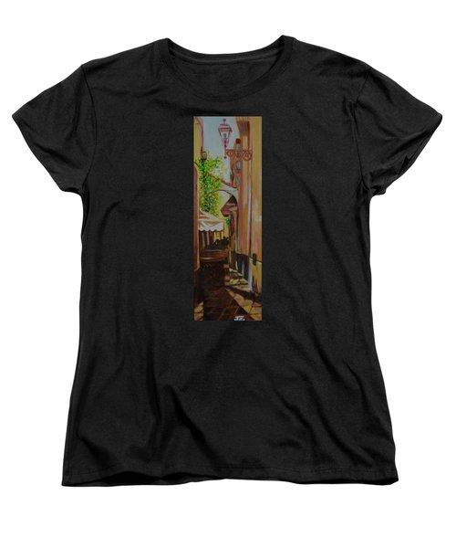 Ville Franche 11 Women's T-Shirt (Standard Cut) by Julie Todd-Cundiff