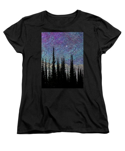 Vincent's Dream Women's T-Shirt (Standard Cut) by Ed Hall