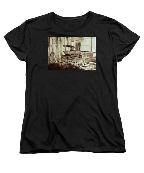 Vintage Carriage Women's T-Shirt (Standard Cut) by Ray Shrewsberry