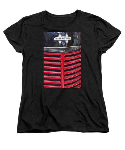 Vintage International Truck Women's T-Shirt (Standard Cut) by Douglas Barnard