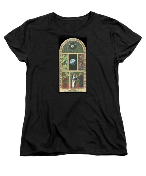 Viriditas - Finding God In All Things Women's T-Shirt (Standard Cut) by William Hart McNichols