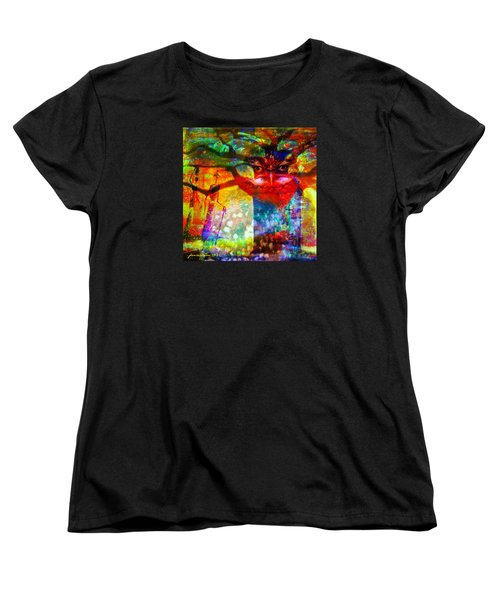 Vision The Tree Of Life Women's T-Shirt (Standard Cut) by Fania Simon