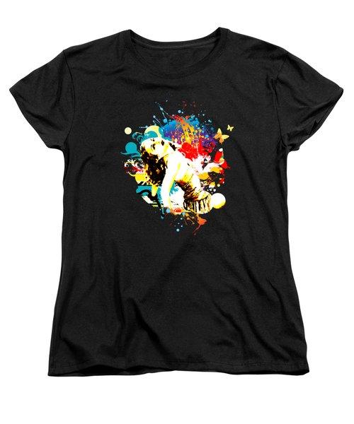 Vixen Subdued Women's T-Shirt (Standard Cut) by Chris Andruskiewicz