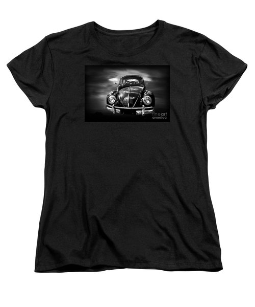 Volkswagen Women's T-Shirt (Standard Cut) by Charuhas Images
