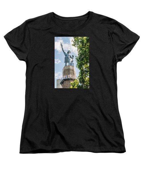 Vulcan On A Sunny Day Women's T-Shirt (Standard Cut) by Parker Cunningham