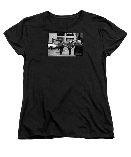 W 34th Women's T-Shirt (Standard Cut) by Steven Macanka
