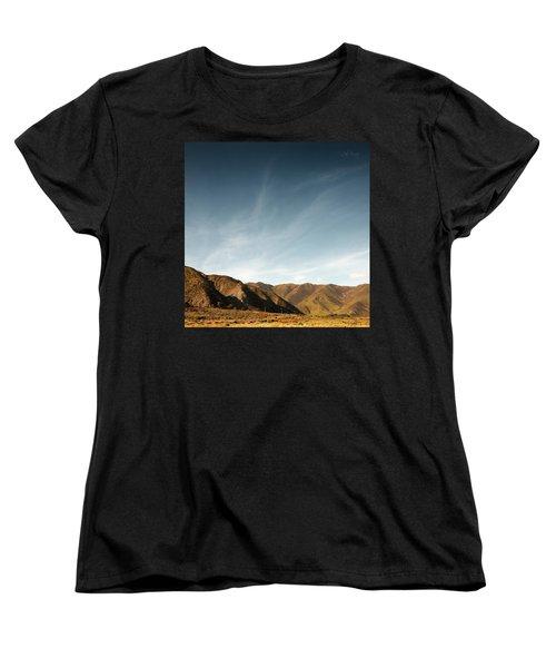Wainui Hills Squared Women's T-Shirt (Standard Cut) by Joseph Westrupp