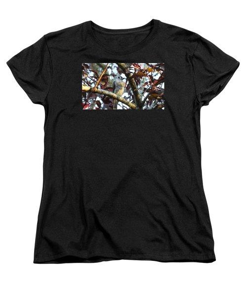 Waiting For Mom Women's T-Shirt (Standard Cut) by Judy Wanamaker