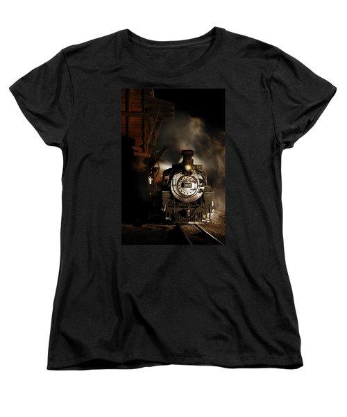 Waiting For More Coal Women's T-Shirt (Standard Cut) by Ken Smith