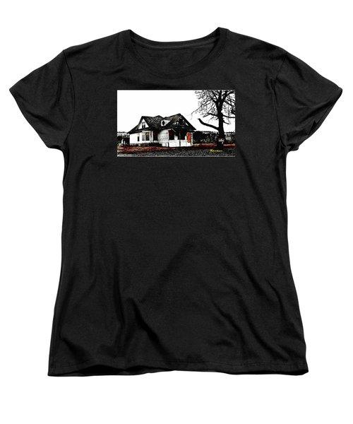 Waiting For The Light Women's T-Shirt (Standard Cut) by Sadie Reneau