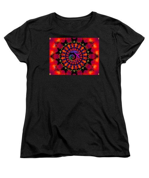 Women's T-Shirt (Standard Cut) featuring the digital art Wake by Robert Orinski