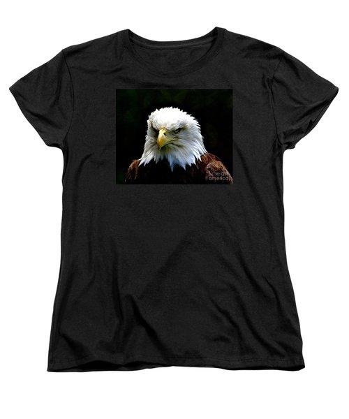 Wake Up America Women's T-Shirt (Standard Cut) by Robert Pearson