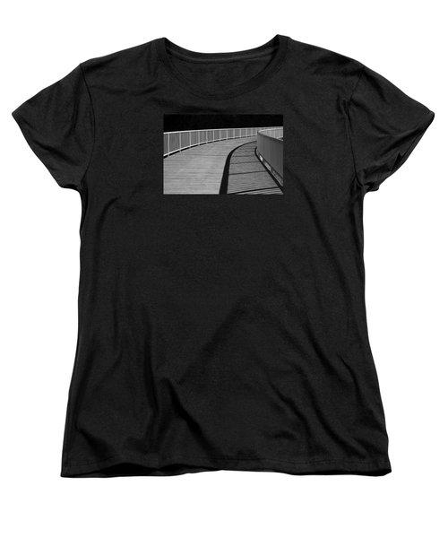 Walkway Women's T-Shirt (Standard Cut) by Chevy Fleet